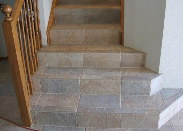 Tile Staircases